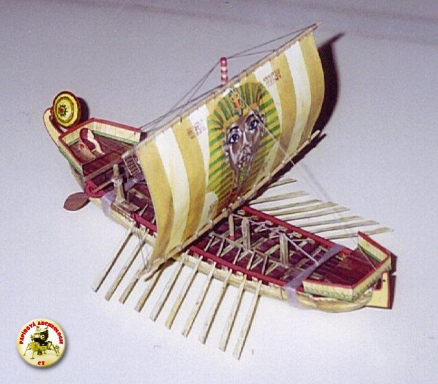 Starověká egyptská loď (Královna Hatšepsovet)