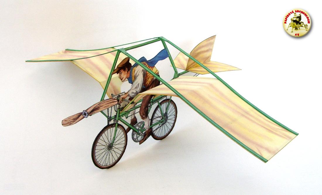 Létající kolo Jana Tleskače