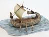 Egyptský papyrový člun