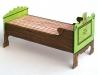 Staročeská jizba - postel