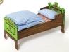 Staročeská jizba - postel a ušité lůžkoviny