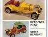 Classic Cars Mercedes 36/220 + Stutz Bearcat – 1976