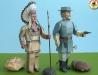 Indiánský bojovník a důstojník Unie
