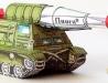 Pásový nosič raket Fluora