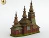 Dřevěný kostelík v Ladomirové