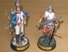 Francouzský fysilír a španělský mušketýr