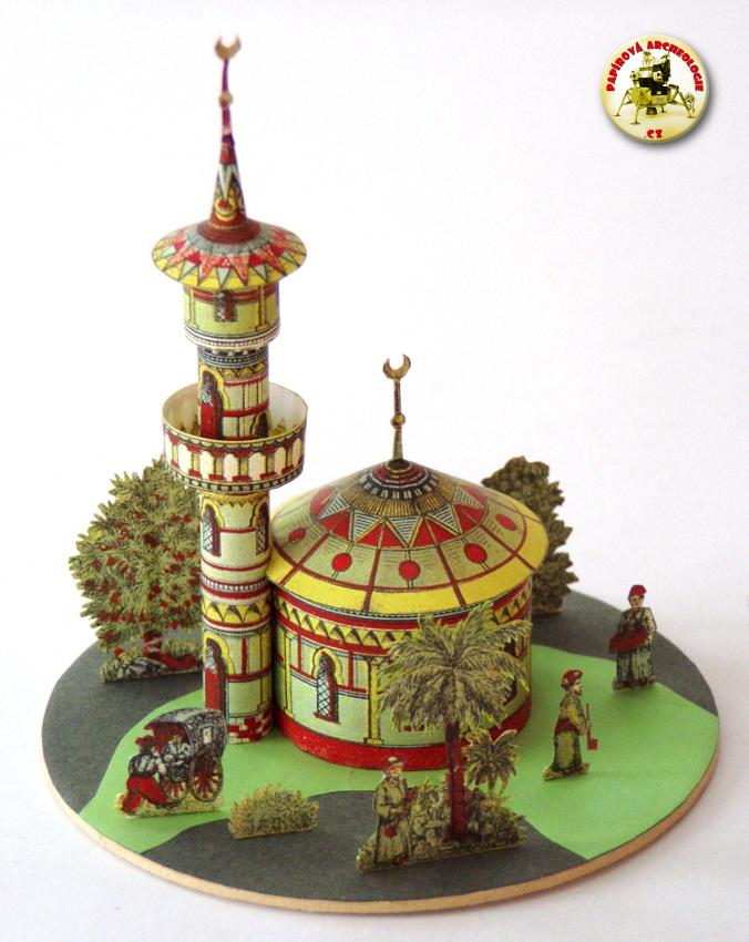 Mešita s minaretem