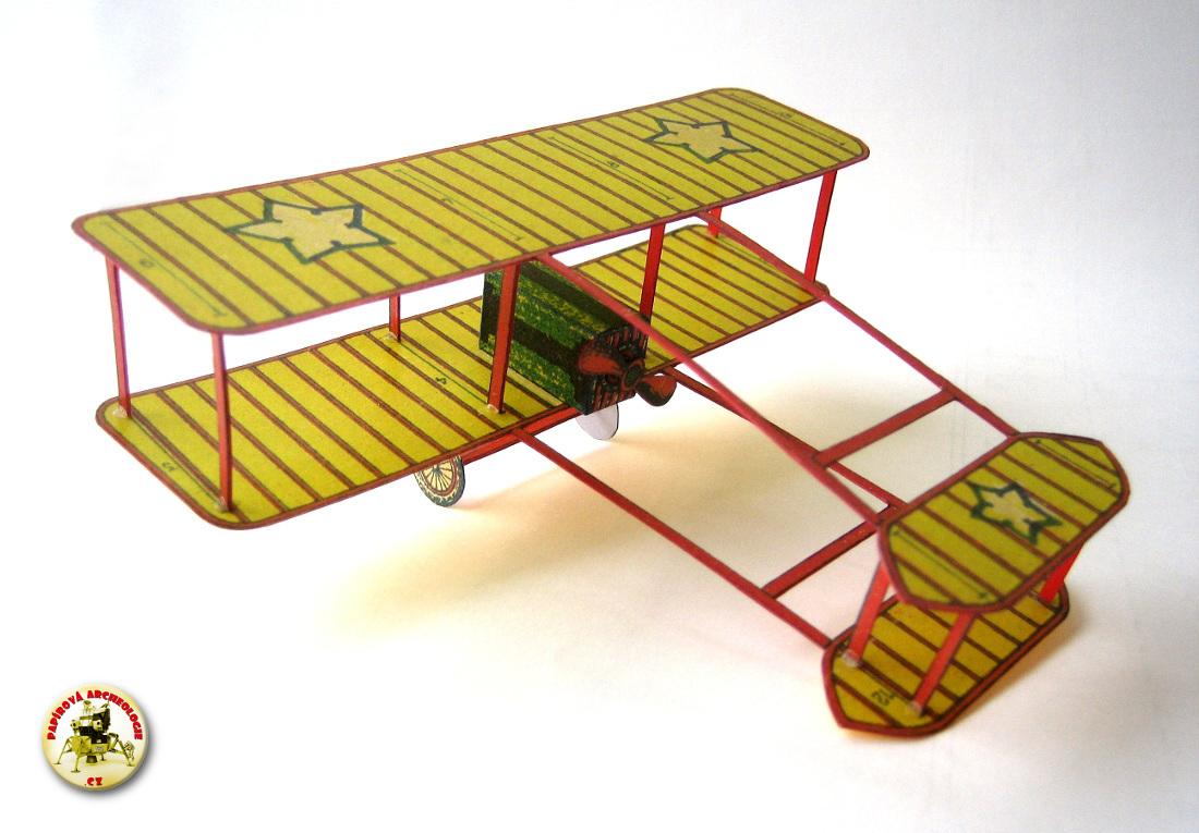 Letadlo - dvouplošník