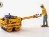 Figurky dělníků k stavebním strojům