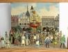 Náměstí v 16. stol. s kašnou