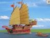 Čínská džunka a sampan