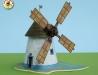 Větrný mlýn z Kuželova na jižní Moravě