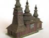 Dřevěný kostelík v Ladomírové