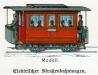 Elektrischer Straßenbahnwagen – 17