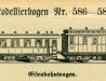 Eisenbahnwagen – 586–588