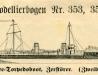 Hochsee-Torpedoboot, Zerstörer – 353, 354