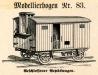 Gepäckwagen und Güterwagen – 83