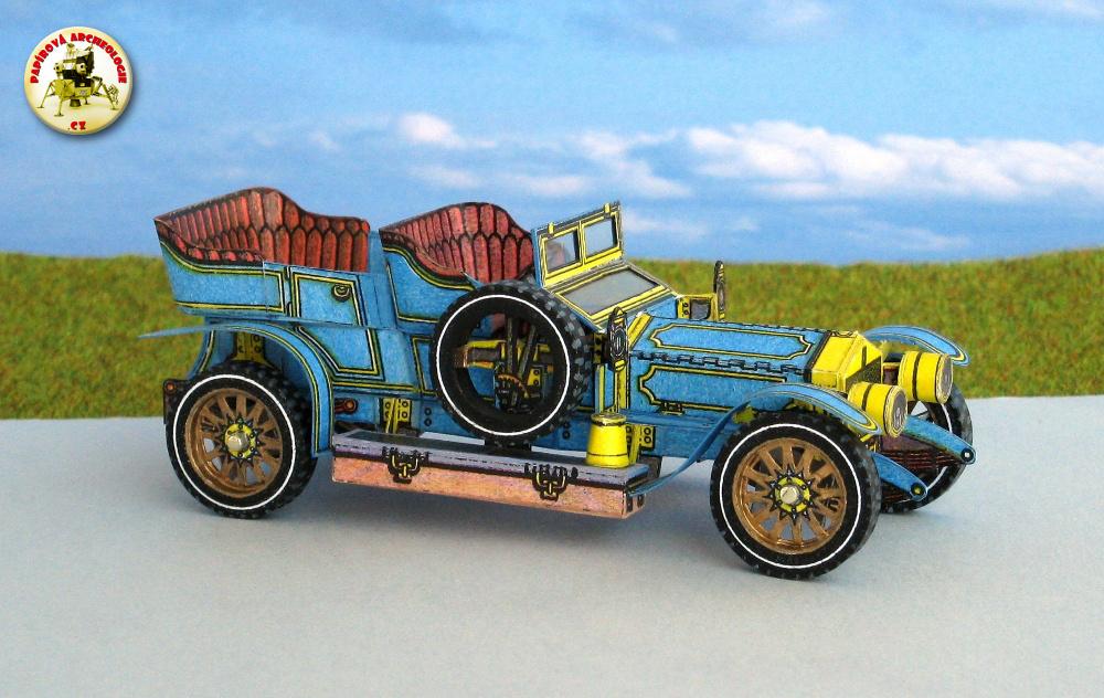 """Rolls-Royce """"Silver Ghost"""" (1907)"""