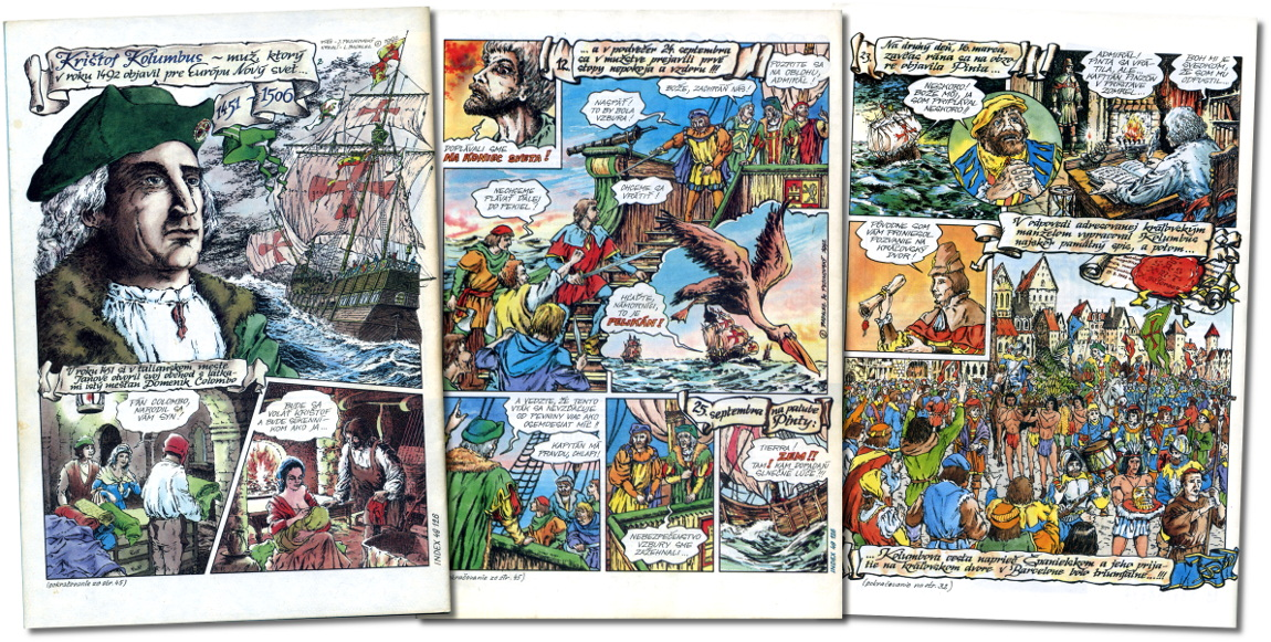 Kolumbus-komiks