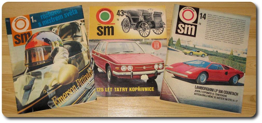 Svět motorů - obálky