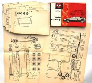 Automodely-kniha