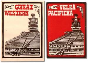 Jaromír Svoboda - Velká Pacifická - obálky